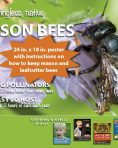How-To Raise Mason & Leafcutter Bees Poster